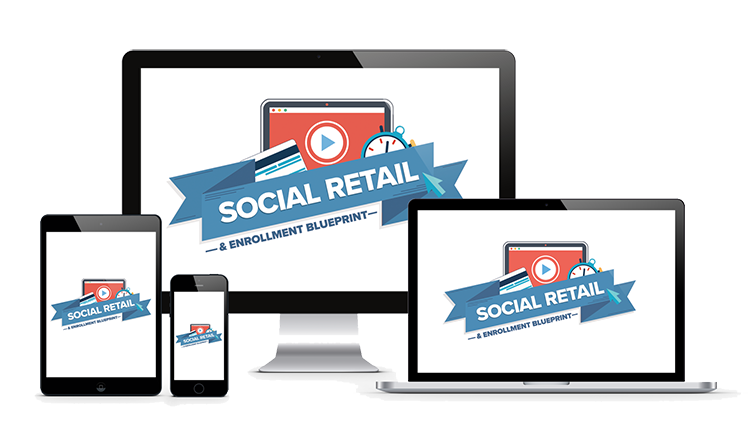 Social Retail Enrollment Funnel